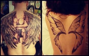 30 Ιδέες για όμορφα Τατουάζ με φτερά!