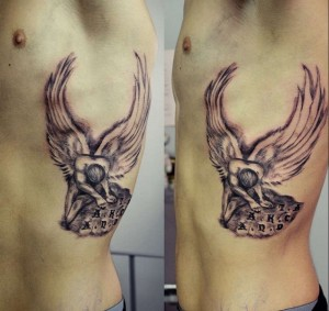 tattoo sta pleura