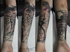 tattoo parastasis
