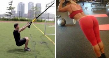Οι 7 καλύτερες ασκήσεις TRX για όλο το σώμα!