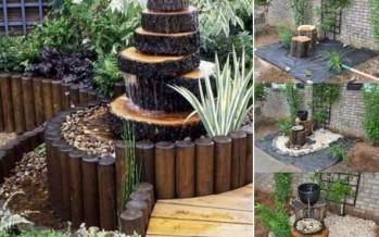 DIY: Φτιάξε μόνος σου κατασκευές από κορμούς δέντρων!
