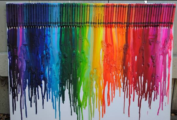 crayon-melting-sugxronh-diakosmhsh