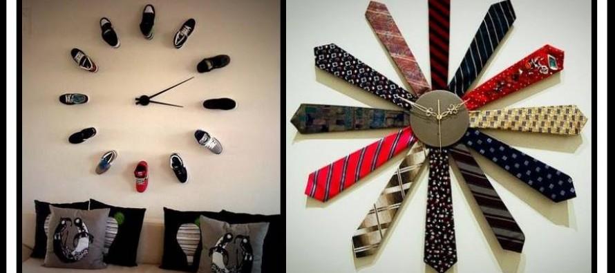 20 Ασυνήθιστα και εντυπωσιακά DIY ρολόγια τοίχου! fbe78ee681f