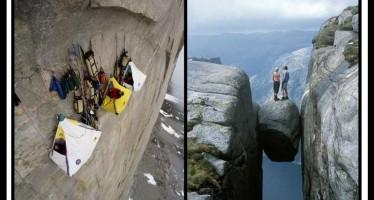 13 Εντυπωσιακές φωτογραφίες με «επικίνδυνες πόζες»!
