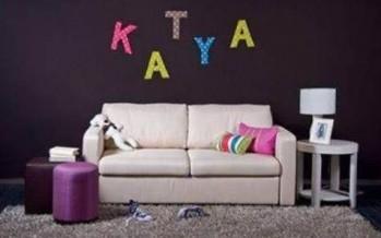 Φτιάξε μόνος σου διακοσμητικά τοίχου εύκολα και γρήγορα!