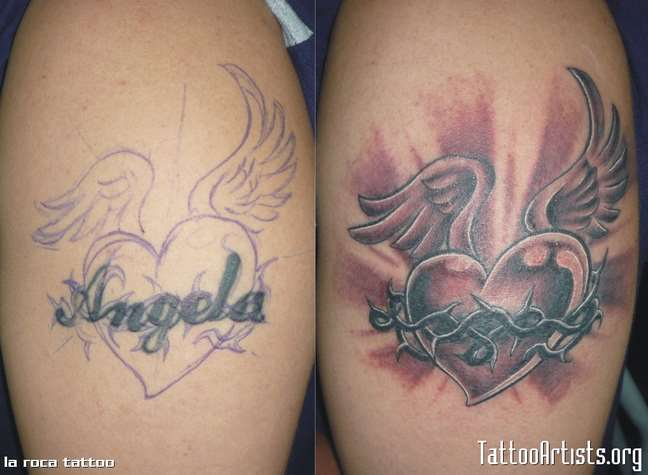 ginekia tattoo cover up