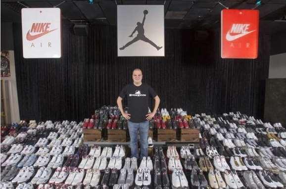 Nike papoutsia rekor
