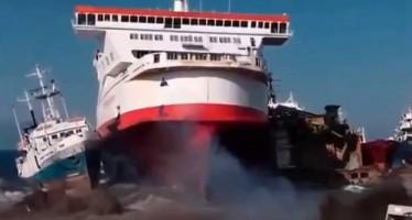 VIDEO: Οι 10 χειρότερες συγκρούσεις πλοίων!