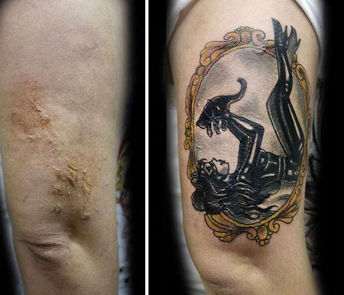 cover tattoo podi