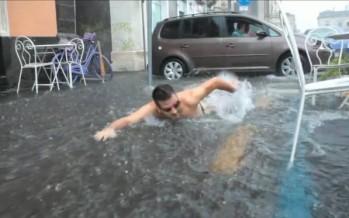 Το βίντεο του κολυμβητή που έγινε viral στο Facebook!