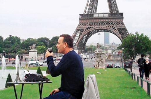 Tom Hanks perierga hobby