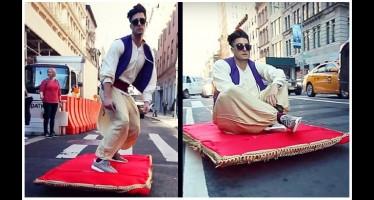 Ο Αλαντίν εμφανίστηκε στους δρόμους της Νέας Υόρκης!