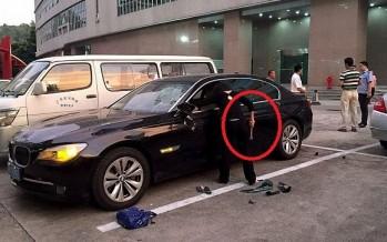 Έσπασε την BMW 740 του, επειδή την απατούσε!