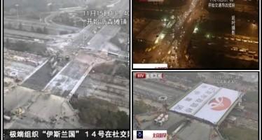 Τοποθέτησαν μέσα σε 43 ώρες νέα γέφυρα στο Πεκίνο!