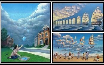 10 Εκπληκτικές εικόνες που δημιουργούν ψευδαισθήσεις!