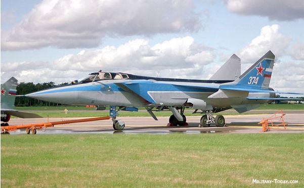 Milkoyan MiG-31 aeroporia rosias
