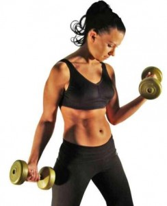 working-out-woman