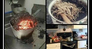 12 Άτομα που δεν θα έπρεπε να ξανά μπουν στην κουζίνα!
