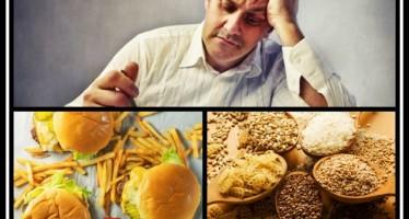 5 Φαγητά που συνδέονται με την κατάθλιψη!