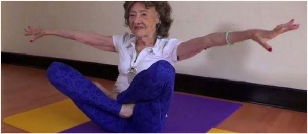 oldest yoga instructor