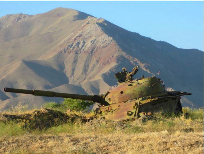 tank in Afghanistan