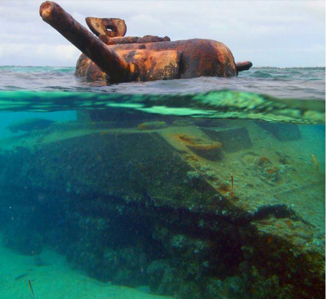 tank in Saipan