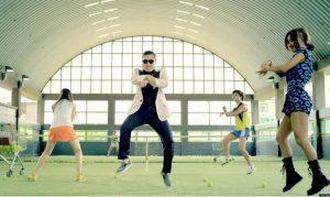 Gangnam style recor youtube