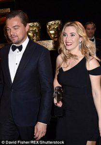 di caprio Kate Winslet oscar