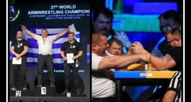 Ο Παγκόσμιος πρωταθλητής Μπρα-ντε-φέρ είναι Έλληνας!
