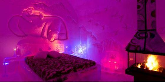 Canadian Ice Hotel, Hôtel de Glace