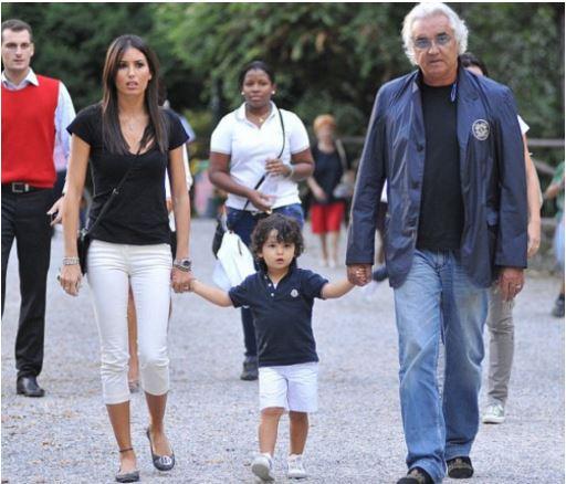Flavio Briatore's son