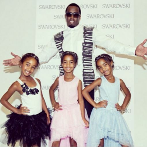 P. Diddy's daughters