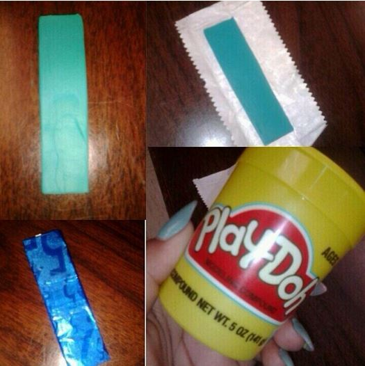 Play-Doh gums