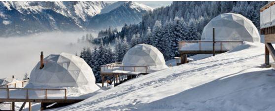 Swiss Pod Hotel, Whitepod Eco-Luxury Hotel
