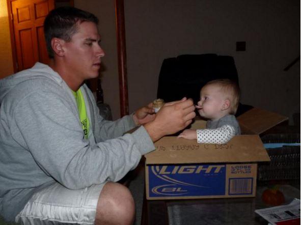 feeding a kid fail