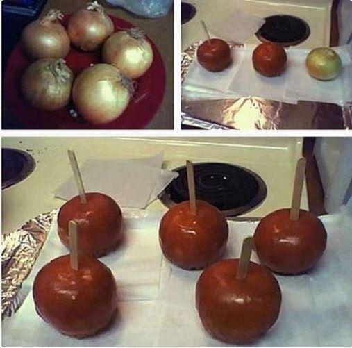 onion candies