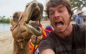 Ιρλανδός βγάζει τις καλύτερες selfies με ζώα!