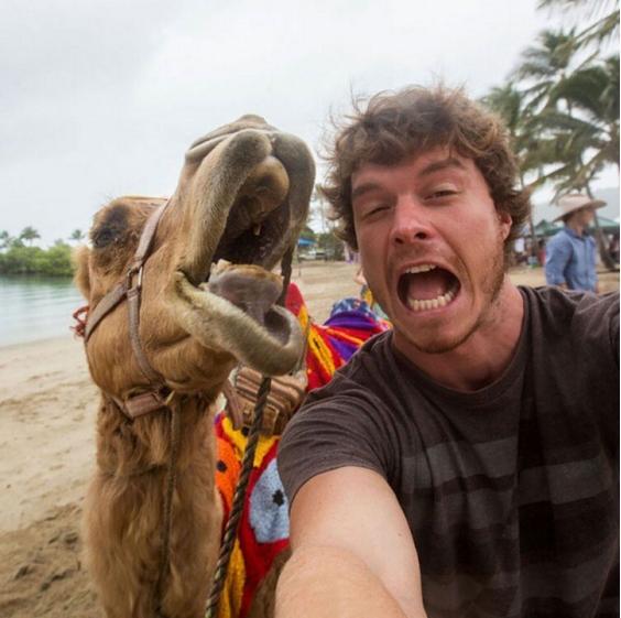 selfie kamila