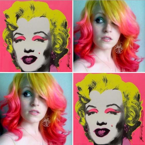 Marilyn Monroe hairstyle
