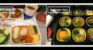 Οικονομική Vs πρώτη θέση: Τα γεύματα 10 αεροπορικών εταιρειών!