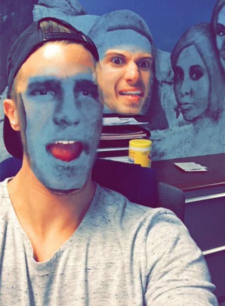 asteia face swaps snapchat