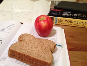eating during exams