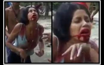 Σοκαριστικό βίντεο με εξορκισμό κοπέλας!