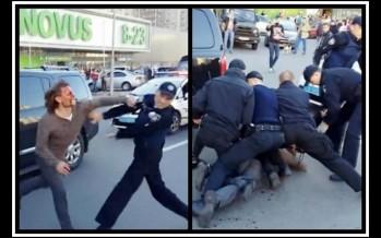 7 Αστυνομικοί τα έβαλαν με έναν πρώην Ολυμπιονίκη της πάλης!