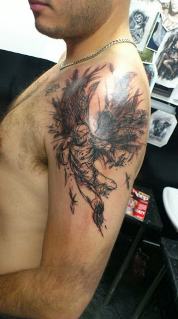 tattoo aggelos omos