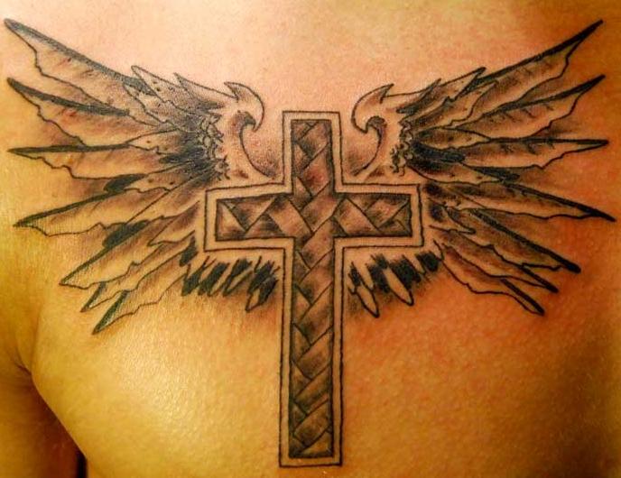 tattoo stauros ftera