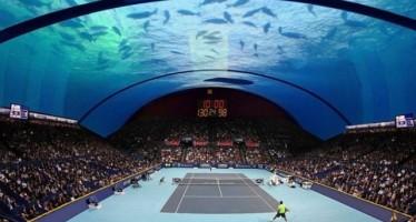 Το 1ο υποβρύχιο γήπεδο Τέννις στο Ντουμπάι!