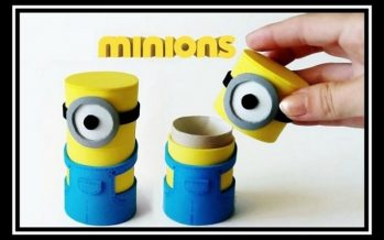 Χάρτινες κατασκευές: Φτιάξε μόνος σου κουτάκι με Minions!