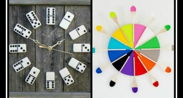 Πως να φτιάξεις μόνος σου πρωτότυπα ρολόγια τοίχου!