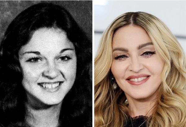 Madonna fotografies